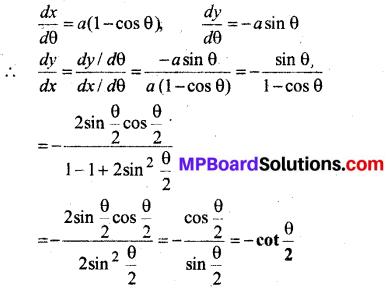 MP Board Class 12th Maths Book Solutions Chapter 5 सांतत्य तथा अवकलनीयता Ex 5.6 img 6