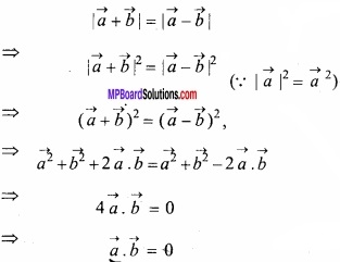 MP Board Class 12th Maths Important Questions Chapter 10 Vector Algebra img 17
