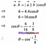 MP Board Class 12th Maths Important Questions Chapter 10 Vector Algebra img 18