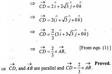 MP Board Class 12th Maths Important Questions Chapter 10 Vector Algebra img 32a