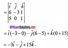 MP Board Class 12th Maths Important Questions Chapter 10 Vector Algebra img 57a