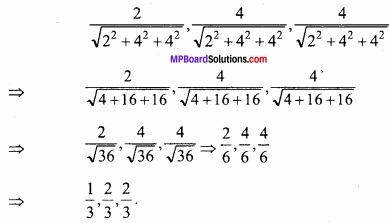 MP Board Class 12th Maths Important Questions Chapter 11 Three Dimensional Geometry IMG 13