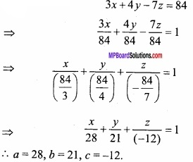 MP Board Class 12th Maths Important Questions Chapter 11 Three Dimensional Geometry IMG 18