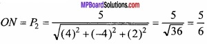 MP Board Class 12th Maths Important Questions Chapter 11 Three Dimensional Geometry IMG 20