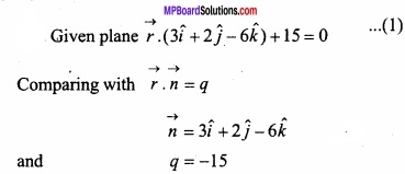 MP Board Class 12th Maths Important Questions Chapter 11 Three Dimensional Geometry IMG 23
