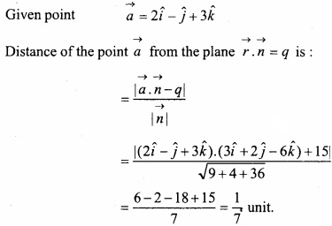 MP Board Class 12th Maths Important Questions Chapter 11 Three Dimensional Geometry IMG 23a