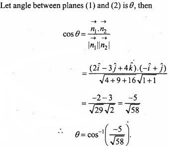 MP Board Class 12th Maths Important Questions Chapter 11 Three Dimensional Geometry IMG 25a