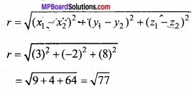 MP Board Class 12th Maths Important Questions Chapter 11 Three Dimensional Geometry IMG 3