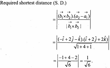 MP Board Class 12th Maths Important Questions Chapter 11 Three Dimensional Geometry IMG 32a