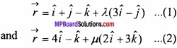 MP Board Class 12th Maths Important Questions Chapter 11 Three Dimensional Geometry IMG 33