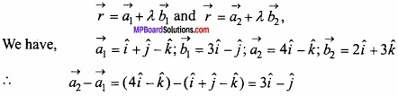 MP Board Class 12th Maths Important Questions Chapter 11 Three Dimensional Geometry IMG 34
