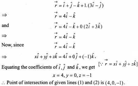 MP Board Class 12th Maths Important Questions Chapter 11 Three Dimensional Geometry IMG 35b
