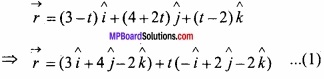 MP Board Class 12th Maths Important Questions Chapter 11 Three Dimensional Geometry IMG 36