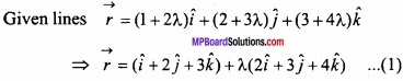 MP Board Class 12th Maths Important Questions Chapter 11 Three Dimensional Geometry IMG 37