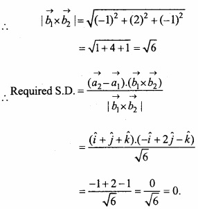 MP Board Class 12th Maths Important Questions Chapter 11 Three Dimensional Geometry IMG 37b