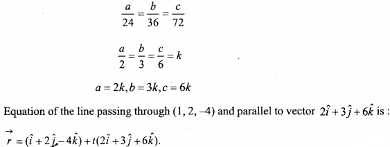 MP Board Class 12th Maths Important Questions Chapter 11 Three Dimensional Geometry IMG 42a