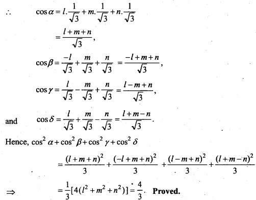 MP Board Class 12th Maths Important Questions Chapter 11 Three Dimensional Geometry IMG 43a