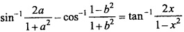 MP Board Class 12th Maths Important Questions Chapter 2 Inverse Trigonometric Functions img 23