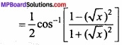 MP Board Class 12th Maths Important Questions Chapter 2 Inverse Trigonometric Functions img 28