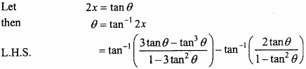 MP Board Class 12th Maths Important Questions Chapter 2 Inverse Trigonometric Functions img 30a