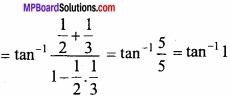 MP Board Class 12th Maths Important Questions Chapter 2 Inverse Trigonometric Functions img 4