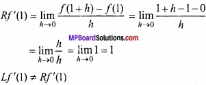 MP Board Class 12th Maths Important Questions Chapter 5A सांतत्य तथा अवकलनीयता img 30