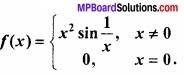 MP Board Class 12th Maths Important Questions Chapter 5A सांतत्य तथा अवकलनीयता img 34