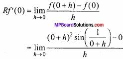 MP Board Class 12th Maths Important Questions Chapter 5A सांतत्य तथा अवकलनीयता img 36