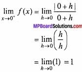MP Board Class 12th Maths Important Questions Chapter 5A सांतत्य तथा अवकलनीयता img 4