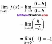 MP Board Class 12th Maths Important Questions Chapter 5A सांतत्य तथा अवकलनीयता img 5