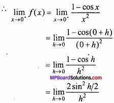 MP Board Class 12th Maths Important Questions Chapter 5A सांतत्य तथा अवकलनीयता img 7