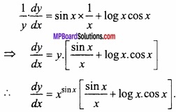 MP Board Class 12th Maths Important Questions Chapter 5B अवकलन img 25