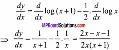MP Board Class 12th Maths Important Questions Chapter 5B अवकलन img 32