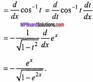 MP Board Class 12th Maths Important Questions Chapter 5B अवकलन img 4