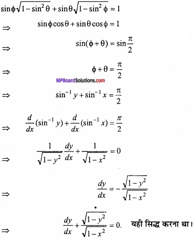 MP Board Class 12th Maths Important Questions Chapter 5B अवकलन img 49