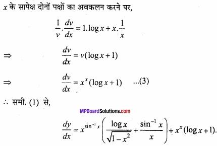 MP Board Class 12th Maths Important Questions Chapter 5B अवकलन img 50b