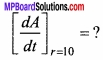 MP Board Class 12th Maths Important Questions Chapter 6 Application of Derivatives img 1