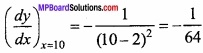 MP Board Class 12th Maths Important Questions Chapter 6 Application of Derivatives img 18