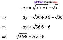 MP Board Class 12th Maths Important Questions Chapter 6 Application of Derivatives img 31