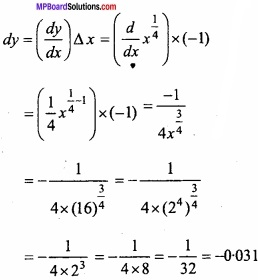 MP Board Class 12th Maths Important Questions Chapter 6 Application of Derivatives img 34