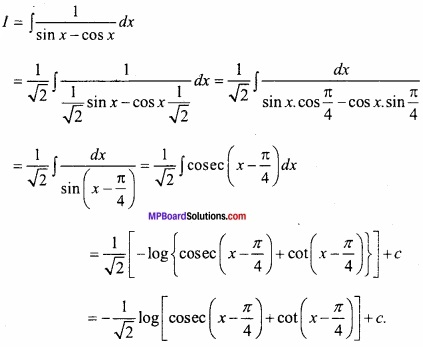MP Board Class 12th Maths Important Questions Chapter 7 समाकलन img 26