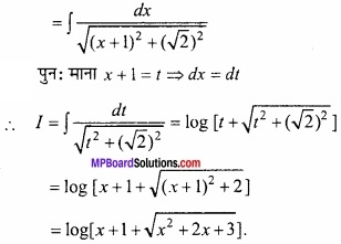 MP Board Class 12th Maths Important Questions Chapter 7 समाकलन img 30a