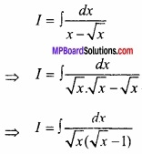 MP Board Class 12th Maths Important Questions Chapter 7 समाकलन img 36