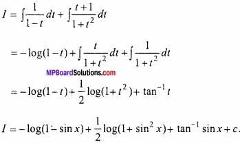 MP Board Class 12th Maths Important Questions Chapter 7 समाकलन img 50