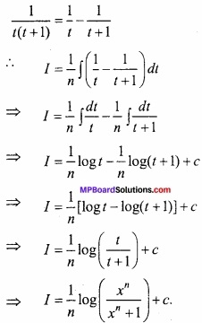 MP Board Class 12th Maths Important Questions Chapter 7 समाकलन img 54