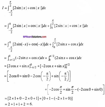 MP Board Class 12th Maths Important Questions Chapter 7B निशिचत समाकलन img 10