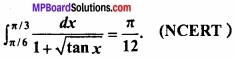 MP Board Class 12th Maths Important Questions Chapter 7B निशिचत समाकलन img 4