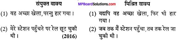 MP Board Class 12th Special Hindi वाक्य-परिवर्तन img-7