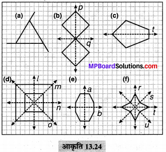 MP Board Class 6th Maths Solutions Chapter 13 सममिति Ex 13.2 image 16