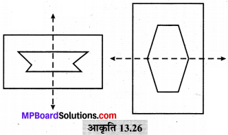 MP Board Class 6th Maths Solutions Chapter 13 सममिति Ex 13.2 image 18